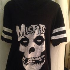 The Misfits Tshirt NWT size 18/20 HOT!!❤️ Great shirt for all Misfit fans. Torrid size 2 which fits 18/20. Brand new with tags. torrid Tops Tees - Short Sleeve