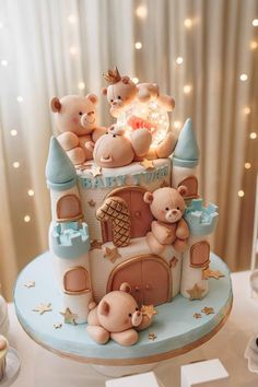 Cake Wrecks - Home - Sunday Sweets: Cute Baby Cakes - # Check more at . - Cake Wrecks – Home – Sunday Sweets: Cute Baby Cakes – # Check more at carry. Baby Shower Cakes, Gateau Baby Shower, Baby Shower Deco, Baby Shower Desserts, Cake Wrecks, Crazy Cakes, Teddy Bear Cakes, Teddy Bears, Baby Birthday Cakes