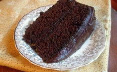 ...and it is a simple, old-fashioned recipe. This Depression era chocolate cake does not call for any butter, milk, or eggs, allowing for those who didn't..