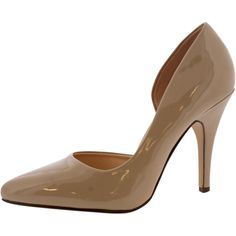 My Delicious Shoes - Women's Pointy Heels - Nude