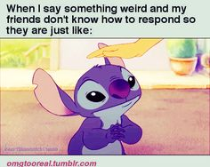 this is how I feel when I mention somethin batman related to my girl friends... Todd has turned me into a nerd lol