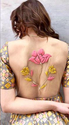 Innovative blouse design.
