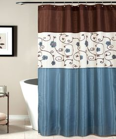 Another Great Find On Zulily Blue Royal Garden Shower Curtain By Lush Decor