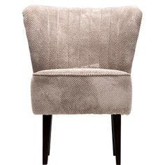 So modern kann Retro sein: Der Jive-Polstersessel trumpft mit einem strukturierten, im Rückenteil gesteppten Bezug (mit elastischem Band) und dunklem Buchenholzgestell auf. Was die inneren Werte betrifft, sind die komfortable Nozagfederung und das Polyester Sitzkissen alles andere als von gestern. Tipp: Mehrere Jive-Sessel in verschiedenen Farben kombinieren.