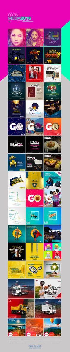 Social Media 2016 on Behance