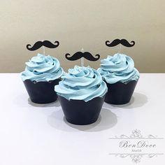 Cupcakes para o tema O poderoso chefinho #cupcake #cupcakerecheado #cupcakeopoderosochefinho #festaopoderosochefinho #temaopoderosochefinho #chanti...
