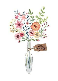 칼라스러운 꽃을 담은화병 도안 모음 : 네이버 블로그