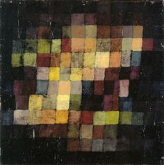 "ymutate: ""Paul Klee Ancient Harmony 1925 38 x 38 cm Oil on card Öffentliche Kunstsammlung Basel, Kunstmuseum Richard Doetsch-Benziger Bequest """