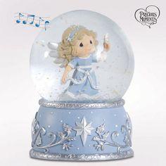 Precious Moments® Angel Musical Globe- Summer Sale Gifts- SALE- Figi's