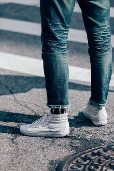 GersDenim Street Style Men, Men Street, Cool Street Fashion, Street Styles, Street Wear, Best Mens Fashion, Fashion Tips, Men's Fashion, Fashion Killa