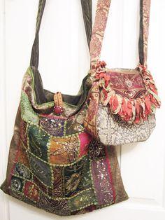 Boho Gypsy Vintage Tapestry Bag Bohemian by VintageVelvetGypsy, $69.00