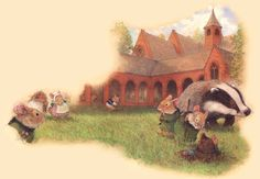 """""""The Great Redwall Feast"""" illustrated by Christopher Denise"""