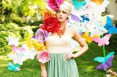 Whimsical Garden Party Wedding Inspiration