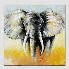 【今だけ☆送料無料】 アートパネル  動物画1枚で1セット ゾウ 象 エレファント 牙【納期】お取り寄せ2~3週間前後で発送予定