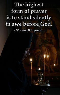 (via Sisters of St. Francis) St. Isaac the Syrian