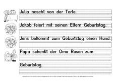 Lesen-Zuordnen-Schreiben - Grundschulmaterial-Fibel - Deutsch Klasse 1 - Grundschulmaterial.de Sheet Music, Group Work, First Grade, Primary School, Music Sheets