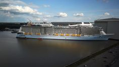 The countdown to Quantum of the Seas is on! Final construction is well underway Meyer-Werft Shipyard in Germany and almost complete! Get a behind the scenes peek at Royal Caribbean's newest ship while she is being perfected.