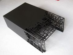 Laser Cut Nesting Cocktail Tables In Excellent Condition For Sale In New York, NY