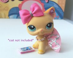 Littlest Pet Shop LPS ropa accesorios Custom Outfit mucho * Cat no incluido *