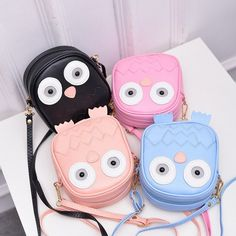 Kawaii Owl Crossbody Bag