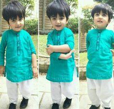 Baby Boy Ethnic Wear, Kids Ethnic Wear, Little Boy Fashion, Baby Boy Fashion, Kids Fashion, Kids Outfits Girls, Toddler Outfits, Baby Boy Outfits, Cute Baby Boy Images