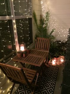 Small balcony decor