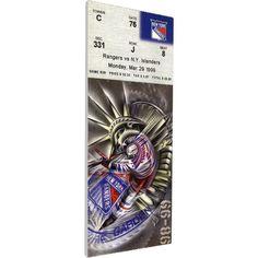 That's My Ticket New York Rangers Wayne Gretzky 894 Goals Game Ticket, Team