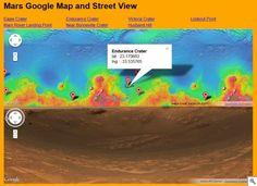 Martian Street View Map