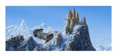 Celebration Europe 2013 Exclusive: Vader's Castle Lithograph