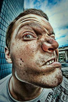 HDR Face Portraits
