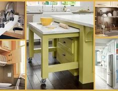 "Modular Kitchen Space Saver and Organization Ideas- Plan N Design These ideas are so accommodating, you'll never say ""I don't have enough space"" again! Kitchen Space Savers, Interior Styling, Interior Decorating, Interior Design Videos, Kitchen Cart, Kitchen Design, Organization Ideas, House Design, How To Plan"