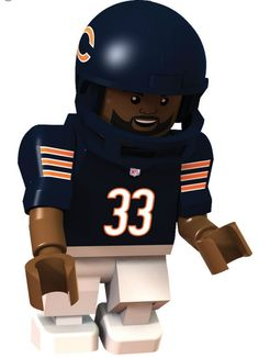#33 Charles Tillman Chicago Bears Cornerback Limited Edition OYO minifigure