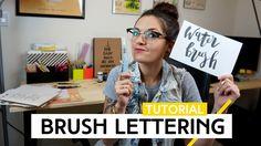 Brush Lettering | Tutorial by Aline Albino