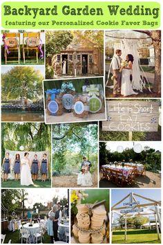 Backyard Garden Wedding Theme