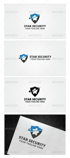 Star Security Logo Template — Photoshop PSD #service #royalty • Available here → https://graphicriver.net/item/star-security-logo-template/7973945?ref=pxcr