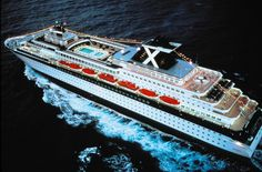MV Zenith while still in Celebrity's fleet. Michelle and I took our first cruise on her- NY to Bermuda.