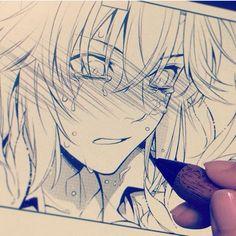 Allen sketch by Katsura Hoshino