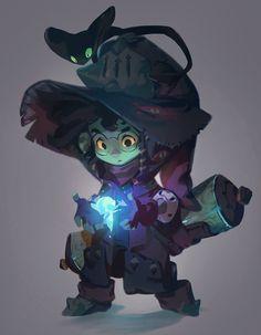 ArtStation - Little Wizard, Nicholas Kole