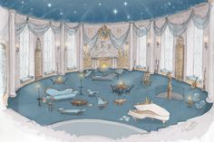 """pottermore: """"animateglee: """"Citing the HP Celebration and the encouragement of house pride posts this weekend, some newly made Ravenclaw common room concept art. """" What a stunning submission! Estilo Harry Potter, Harry Potter Room, Harry Potter Houses, Hogwarts Houses, Harry Potter Hogwarts, Ravenclaw, Hogwarts Mystery, Palaces, Concept Art"""