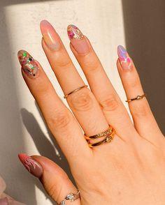 Manicures, Gel Nails, Acrylic Nails, Natural Nail Polish, Natural Nails, Short Nails, Long Nails, Cute Cartoon Pictures, Nice Nails