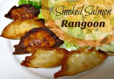 smoked salmon rangoo