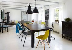 Table - different chairs