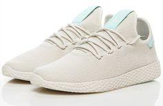huge selection of a4c25 f52b6 adidas Originals PW Tennis Hu Pharrell Williams White Black Men Women B41792   eBay