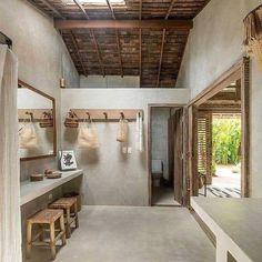Bathroom Interior Design, Interior Decorating, Design Bedroom, Village House Design, Bamboo House, Mediterranean Homes, Dream Home Design, Interior Architecture, New Homes