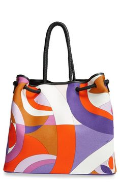 Emilio Pucci Canvas Beach Tote available at #Nordstrom