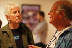 Ben Cohen and Graham Nash [In May of 2014, #StampStampede teamed up with Crosby, Stills and Nash to help #GetMoneyOut of politics!]