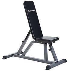 Goplus Adjustable Folding Sit Up AB Incline Abs Bench Flat Fly Weight Press Gym //Price: $45.99 & FREE Shipping //     #hashtag3