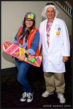 MegaCon 2014 - BACK TO THE FUTURE - MARTY MCFLY & DOC BROWN