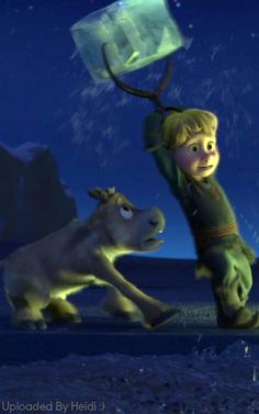 Frozen~young kristoff and Sven