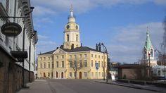 Haminan raatihuone,  Townhall, Hamina 1840's